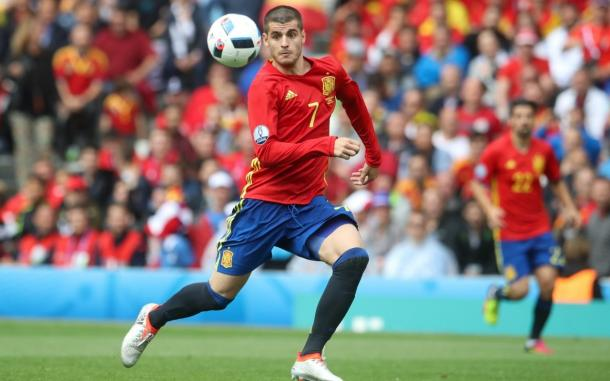 Alvaro Morata has been on fire for Spain | Photo: Telegraph