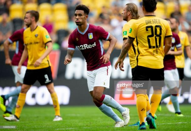 Andre Green has impressed for Aston Villa in pre-season. (picture: Getty Images / Neville Williams)