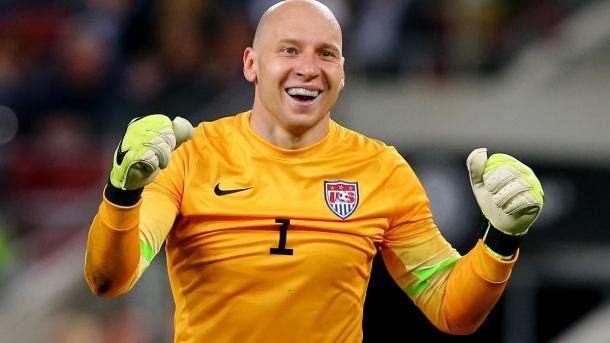 Guzan ha sido indiscutible con Estados Unidos tras la marcha de Howard. Foto: Fox Sports