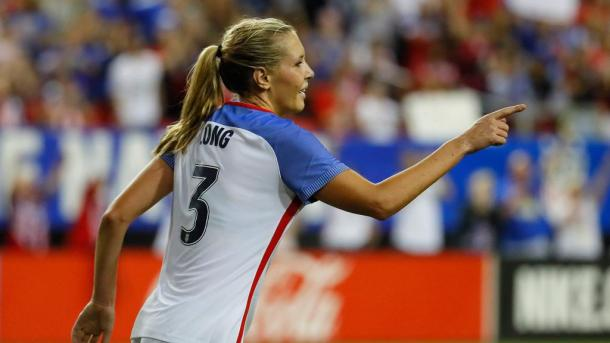 Allie Long returns to the national team setup| Source: foxsports.com