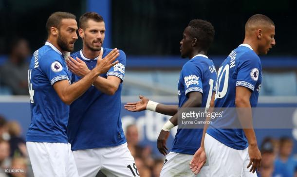 El Everton necesita aún adaptarse a lo que Marco SIlva quiere. Fuente: Getty Images