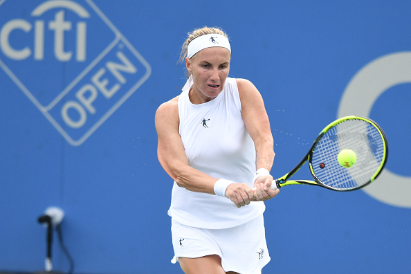 Svetlana Kuznetsova in action at the Citi Open | Photo: Mitchell Layton/Getty Images Sport