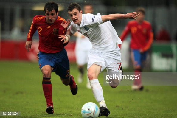 Keane on youth international duty (photo: Getty Images)