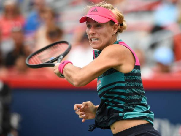 Kerber will be looking to improve on the tennis she played in Montreal (Getty/Minas Panagiotakis)