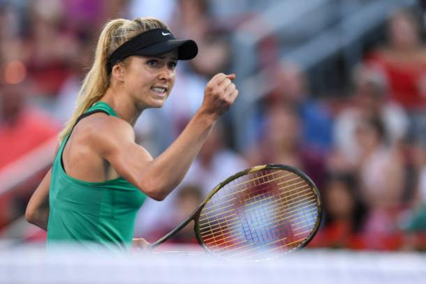 Svitolina reached the last four in Montreal, and will be aiming for another strong result here (Getty/Minas Panagiotakis)
