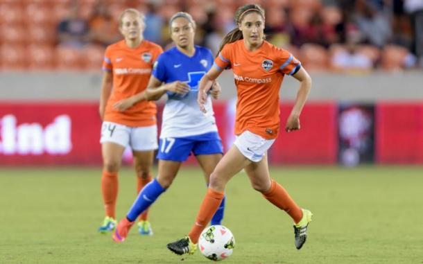 Brian may miss time with the Houston Dash as well | Source: houstondynamo.com