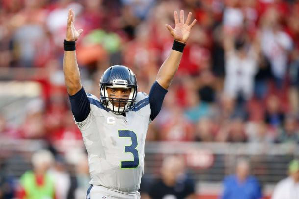 Can Russell Wilson fill the void left by Marshawn Lynch? (Ezra Shaw / Getty Images)