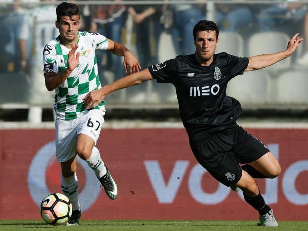 Felipe não teve uma tarde inspirada em Cónegos | Foto: Mais Futebol