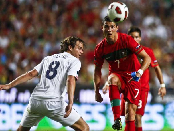 A Noruega só conseguiu vencer uma vez a selecção portuguesa | Foto: Maisfutebol