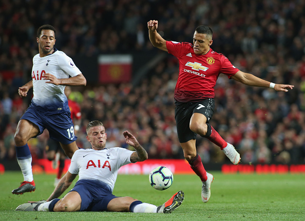 Alexis Sánchez ante el Tottenham Hotspur Football Club | Getty Images