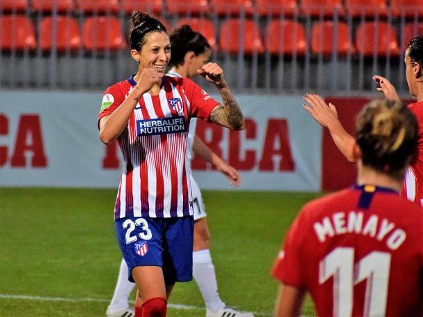 Spain will need a big tournament from Jenni. | Photo: Alejandro Reguero