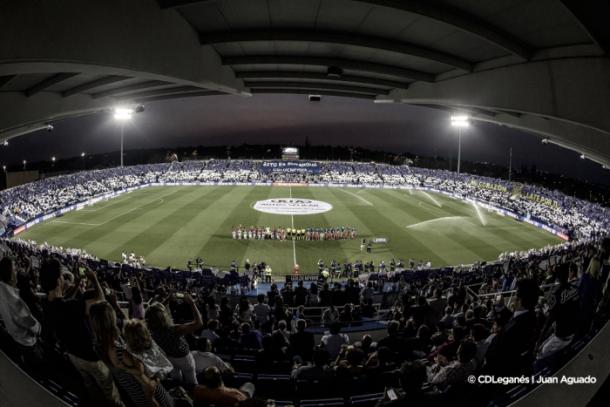 Estadio Butarque. Fuente: CDLeganés