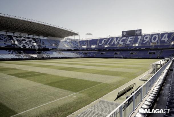 Estadio de La Rosaleda | Foto: Málaga CF
