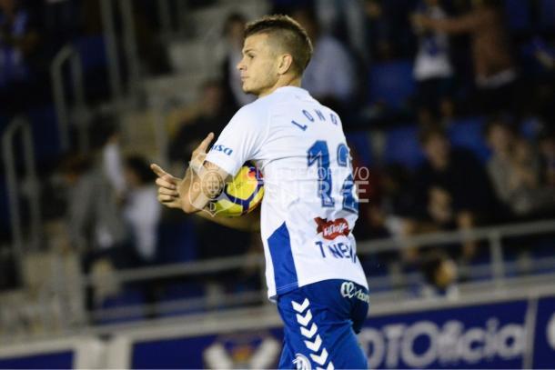 Samuele Longo es el máximo goleador del CD Tenerife con siete goles anotados   Foto: CF Tenerife