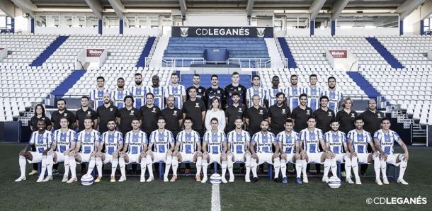 Plantilla del CD Leganés en la temporada 2019-2020. Fuente: CD Leganés.