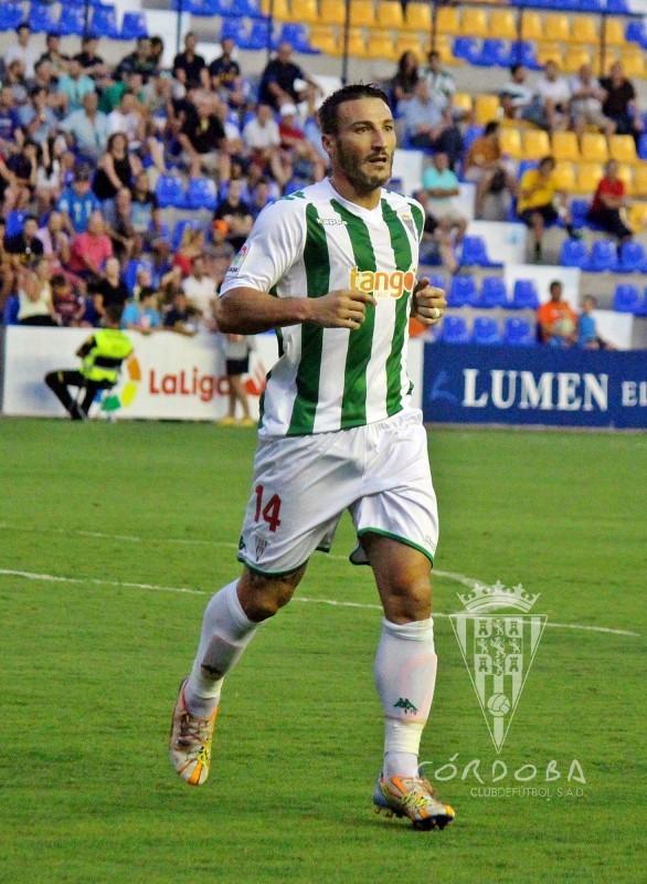 Piovaccari en su debut | Foto: Córdoba CF