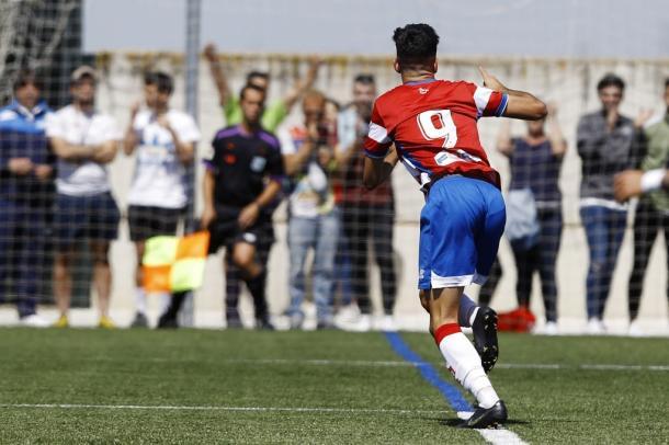 Dani Moreno, jugador del Granada Juvenil A. FOTO: Granada CF web