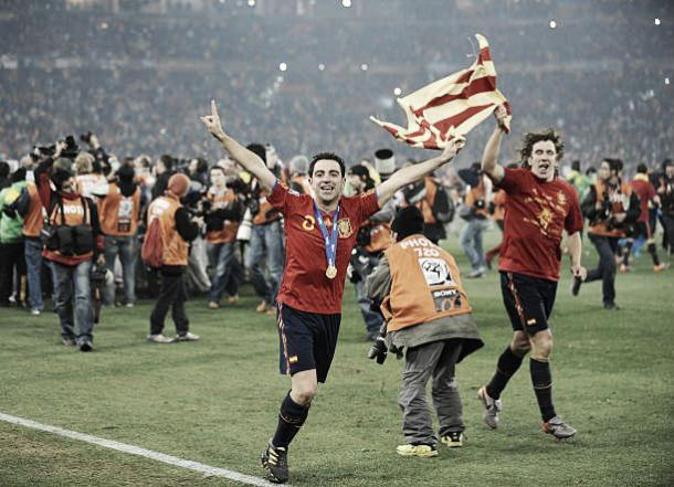 Em 2010 enfim o título | Foto: AFP/Pierre-Philippe Marcou/Getty Images