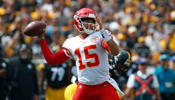 Patrick Mahomes was close to unstoppable for the Chiefs | Source: Justin K. Aller-Getty Images