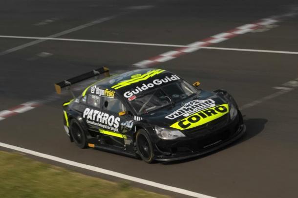 Bruno Boccanera en plena vuelta lanzada. Foto: Top Race.