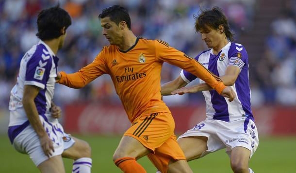 Último encuentro disputado en Zorrilla entre ambos conjuntos   Real Valladolid