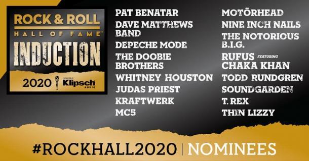 Rock & Roll Hall Of Fame Nominaciones 2020 | Foto: R&RHOF