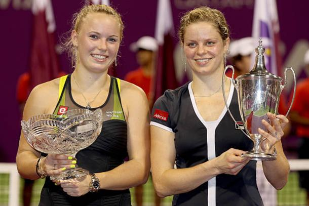 Wozniacki lost to Kim Clijsters in the final seven years ago (Getty/Matthew Stockman)