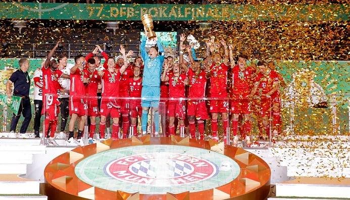 El Bayern Múnich se consagró campeón de la DFB Pokal en Berlín. / Twitter: Bayern Múnich oficial