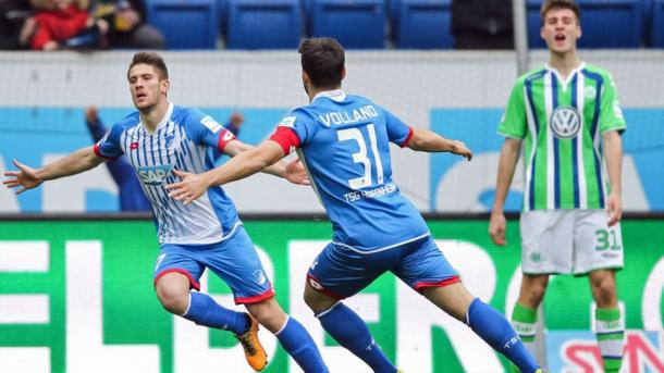 Kramaric celebrates getting the winner in the corresponding fixture last season | Photo: Kicker