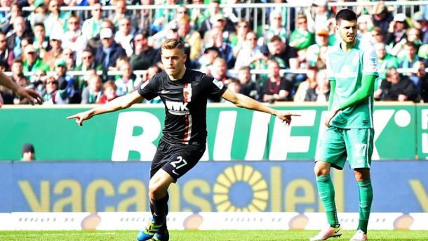 Finnbogason scored the winner in last season's encounter. | Photo: Bundesliga