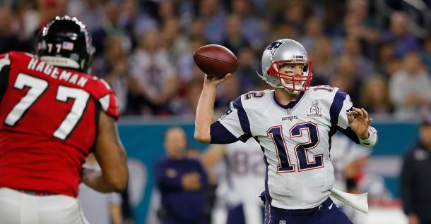 Tom Brady, en la Super Bowl LI
