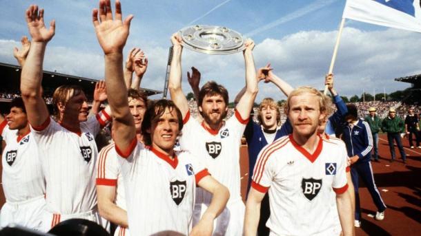 El Hamburgo fue ganador de la Bundesliga en tres ocasiones consecutivas en los años 80 | Fuente: bundesliga