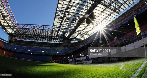 Estadio Giuseppe Meazza. / Foto: gettyimages