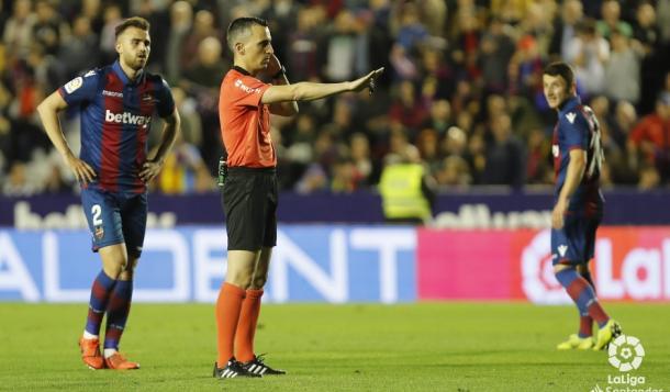 Jaime Latre, el árbitro del encuentro | LaLiga