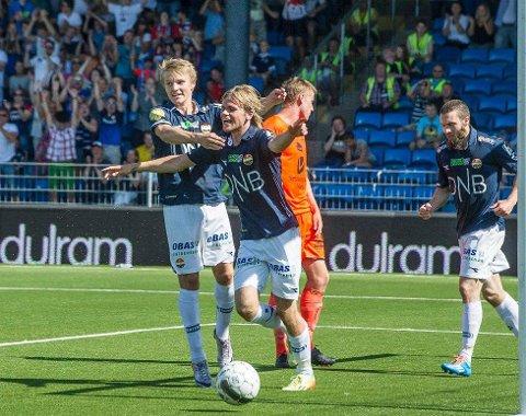 Martin Odegaard en el Drammen Strong | Fuente: Drammens Tidende