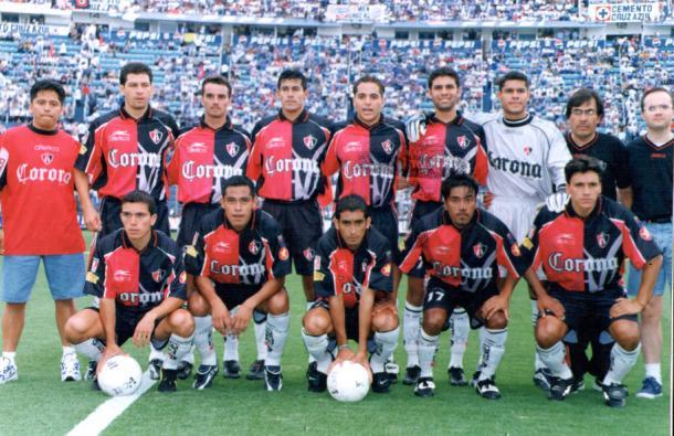 En la época de La Volpe, la base del equipo Atlista eran jugadores de la cantera. / Fuente: Atlas FC