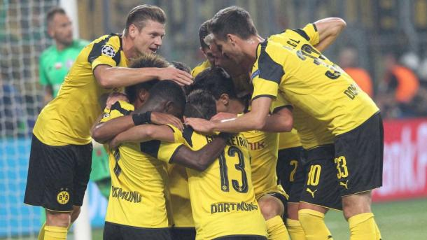 Dortmund will want to replicate their Thursday night performance this weekend. | Source: Bundesliga