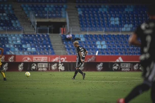 Alex MArtín con el F.C Cartagena