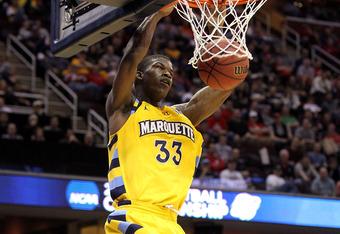 Butler jugando para Marquette. Foto: SpreeGoogs.com