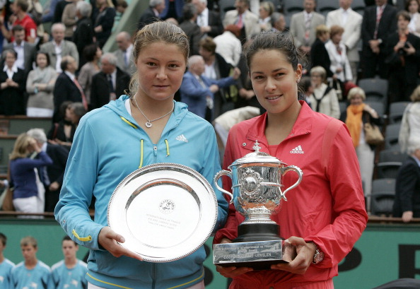 Ivanovic defeats Dinara Safina to win the 2008 French Open. Credit: Pool Benainous/Hounsfield/Gamma-Rapho via Getty Images