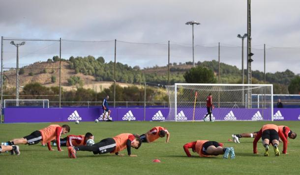 Entrenamiento del Real Valladolid   Real Valladolid