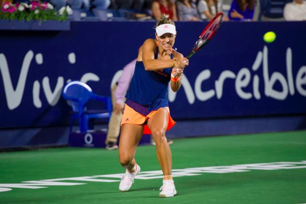 Angelique Kerber in action | Photo: Abierto Monterrey