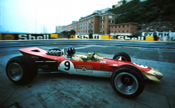 Graham Hill, durante el Gran Premio de Mónaco de 1968 | Fuente: Getty Images