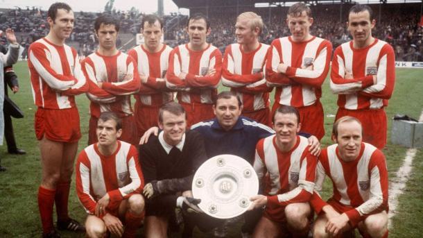 El Bayern de Múnich posa con su primer Bundesliga en 1969 | Fuente: Bundesliga