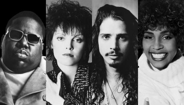 MC 5, Pat Benatar, Chris Cornell de Sound Garden y Whitney Houston | Imagen: RR&HOF