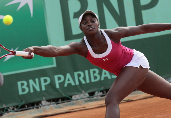 Stephens at the 2011 French Open, her first Grand Slam tournament. Photo credit : Jacques Demarthon / Getty Images.
