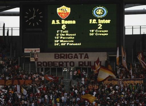 Partido de ida de 'Coppa' en la 2006-2007 / Foto: Roma