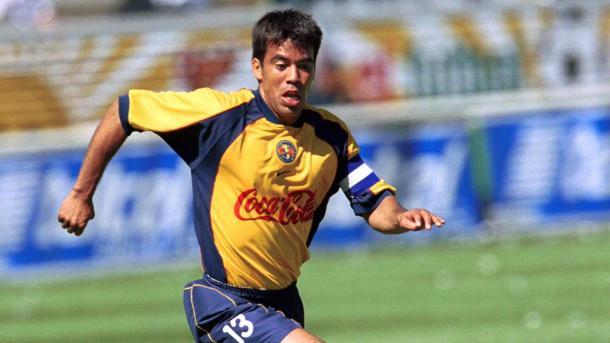 Pavel Pardo en el torneo de Verano 2002 con las Águilas | Foto: Telemundo Deportes
