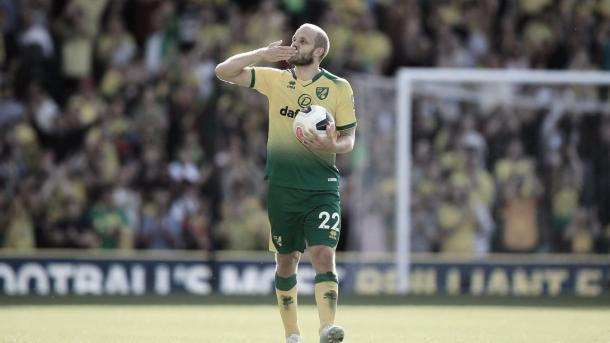 Teemu Pukki tuvo su tarde soñada | Foto: Premier League