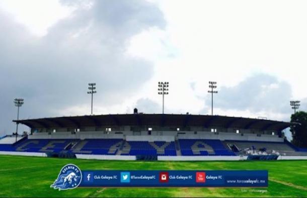 (Estadio Miguel Alemán Valdés - Foto: Club Celaya FC)